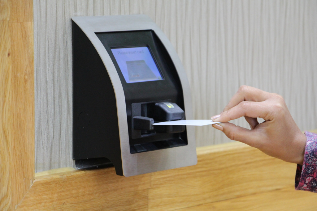 ID card and pin protection, facial recognition and biometric security